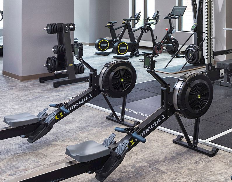 Fitness Center at Hotel Ivy, A Luxury Collection Hotel, Minneapolis